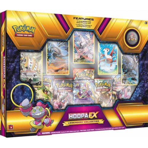 Pokemon Legendary Sammelbox: Hoopa EX - Japan Ex Pokemon