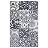 Beija Flor Authentic Eclectic lace Vinyl Floor mat