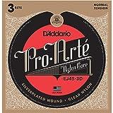 D 'Addario EJ45–3d Klassische 6Stück Nylon Seil für Musikinstrument–Saiten für Musikinstrumente Gitarre, Gitarre, Nylon, klassisch, 6Stück (S)