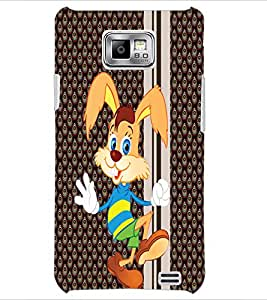 PrintDhaba Cartoon D-5796 Back Case Cover for SAMSUNG GALAXY S2 (Multi-Coloured)