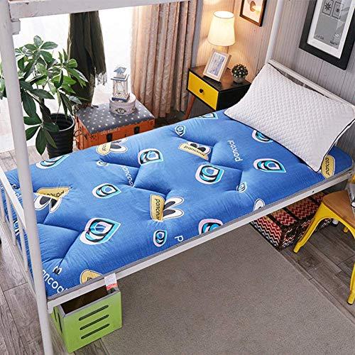 EEvER Schlafmatte Bequeme Matratze Dicke Matratzenauflage, Traditionelle japanische Futon Premium Matratze Tatami-Matte zum Schlafen im Studentenwohnheim, Home-Rosa, 180x200 cm (71x79 Zoll) - Premium-futon-matratze