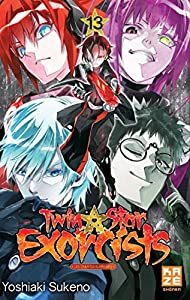 Twin star exorcists Edition simple Tome 13