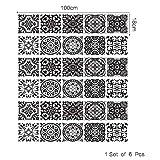 TNFUFP sticKERS für treppen, 6 stücke DIY Schritt Aufkleber Tapete Treppe 3D Treppe Aufkleber Weiße Segeltuchschuhe 3D Muster Boden Wand Dekor Abziehbilder Aufkleber Wohnzimmer 18 * 100 cm