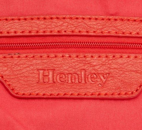 Henley  Charlotte,  Damen Umhängetasche Stone/Coral