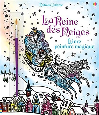 La Reine des Neiges - Livre peinture magique
