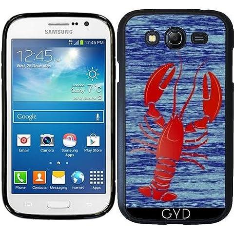 Custodia in silicone per Samsung Galaxy Grand i9082 - Aragosta by (Lobster Personalizzato)