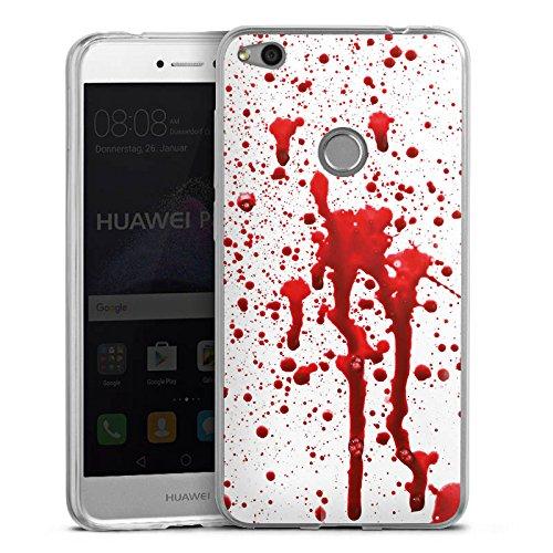 Slim Case Silikon Hülle Schutzhülle Blut Halloween Gothic (Wackelt Halloween 2017)