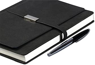 COI Executive Corporate Undated Business Diary/Organizer Planner with Pen (Grey)