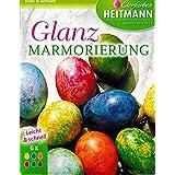 """Ostereier Farben / Eierfarben """"Glanz Marmorierung"""" (6 Farben) OSTERN"""