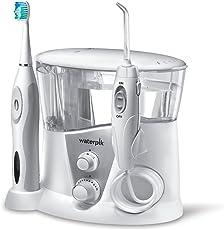 Waterpik WP-950EU Complete Care 7.0 Munddusche und Schallzahnbürste, weiß