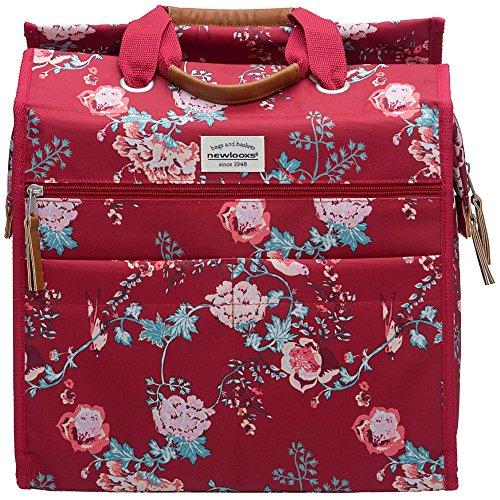 fahrrad einkaufstasche Unbekannt New Looxs Lilly Ella Gepäckträgertasche/Einkaufstasche, Red, 35 x 32 x 16 cm
