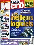 Micro hebdo - n°47 - 11/03/1999 - Les meilleurs logiciels
