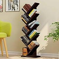 Urbancart Tree Bookshelf/Bookrack Organizer for Books/CDs/Albums/Files Holder in Living Room Home & Office.(9 Tier…