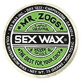Herr Zogs Original sexwax–kaltem Wasser Temperatur Coconut Duft, White - Coconut Scented