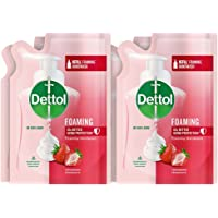 Dettol Strawberry Foaming Handwash Refill, 200ml, Pack of 4