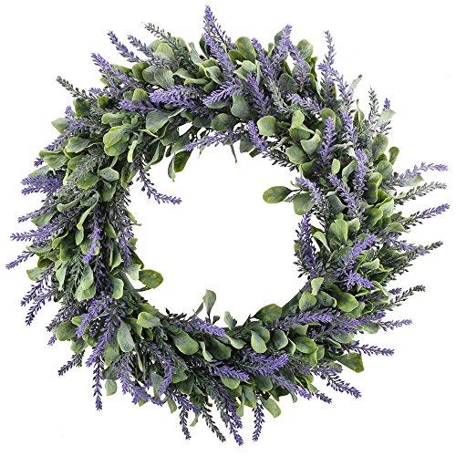 mihounion-fleur-de-lavande-artificielle-fleur-de-porte-de-printemps-avec-faux-feuilles-de-feuillus-p