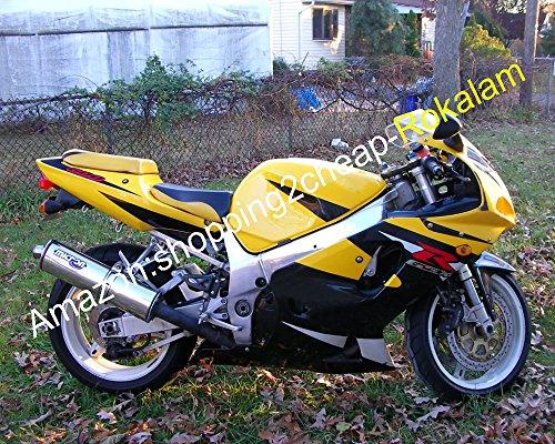Hot Sales, K1 GSXR 600 750 Gsx-r600 V-Strom 2001 2002 2003 Moto Marché kit Jaune Ensemble de Carénage de moulage par injection ()