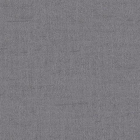 Dekostoff Gardinenstoff Vorhangstoff Meterware für Gardinen, Vorhänge, Kissen, etc. - Uni Crash - Grau - Verdunkelnd