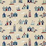 Fabulous Fabrics Dekostoff Natur – Nordsee — Meterware
