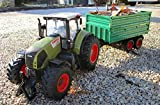 RC Traktor Claas Axion 850 + Anhänger in Länge 72cm