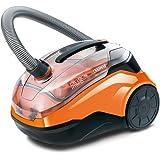 Thomas 786552 CYCLOON Family & Pets Erster beutelloser Hybrid Zyklonsauger Orange/schwarz
