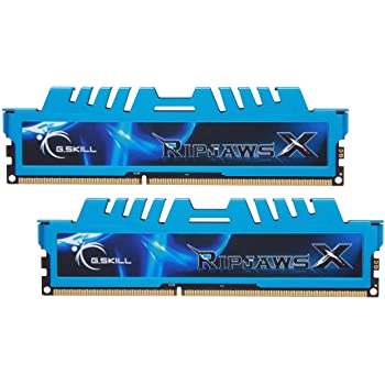 G.Skill F3-1866C9D-16GXM - Memoria RAM DDR3 de 16 GB (1866 MHz, CL9)