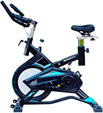 National Bodyline Spin Bike NB-S6| Exercise Fitness Spinning Bike| Spine Fitness Equipment| Exercise Cycle for Home Gym| Indoor Cycle| Trainer Fitness Bike| Gym Bike (Imported)