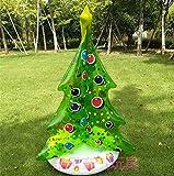LYXEY Aufblasbare Weihnachtsbaum aufblasbare Spielwaren Feiertag Weihnachtsstützen Dekoration Geschenke Weihnachtsbaum Bar Supermarkt Anzeige, 95cm