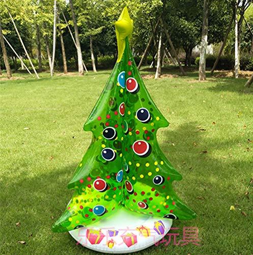 ihnachtsbaum aufblasbare Spielwaren Feiertag Weihnachtsstützen Dekoration Geschenke Weihnachtsbaum Bar Supermarkt Anzeige, 95cm ()