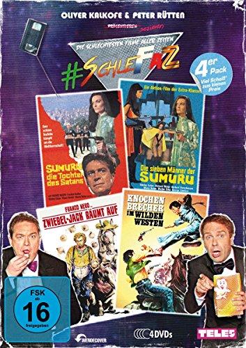 SchleFaZ Value Pack: Sumuru - Die Tochter des Satans/Die sieben Männer der Sumuru/Zwiebel-Jack räumt auf/Der Mann mit der Kugelpeitsche [4 DVDs]