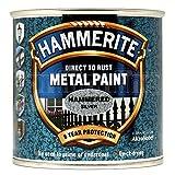 Hammerite HAM6720301 250ml Metal Paint - Hammered Silver