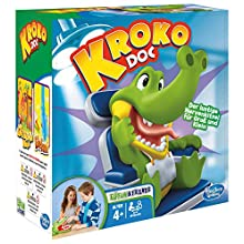 Hasbro Gaming – Crocodile Dentist, Game of Skill (B04081750) [may not be in English] German version