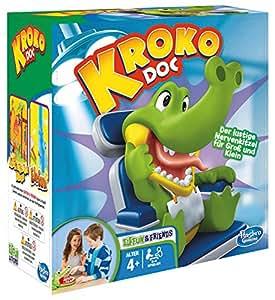 Hasbro Spiele B0408100 – Kroko Doc, Kinderspiel