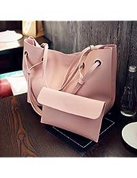 Tomtopp Women PU Leather Shoulder Messenger Bag Tote Purse Handbag Crossbody Satche
