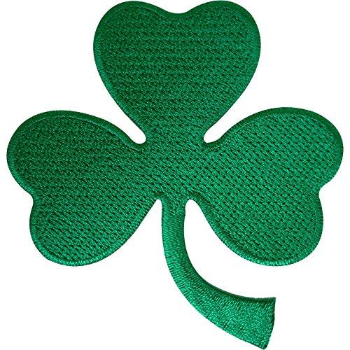 Irish 3Leaf Shamrock Clover Patch Badge Eisen nähen auf Irland St. Patrick 's Day