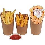 CGOLDENWALL14oz Bubble Wafel Bekers Houder Papier Fries Chips Doos Ice Cream Party Afhaalkopje Kip Rijst Gebakken Kippenbeker