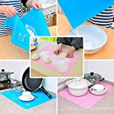 #2: Kurtzy Cake Mat - New Premium Large Fondant Dough Pastry Silicone Rolling Work Mat With Measuring Guide For Sugarcraft Cake Decorating By Kurtzy Tm