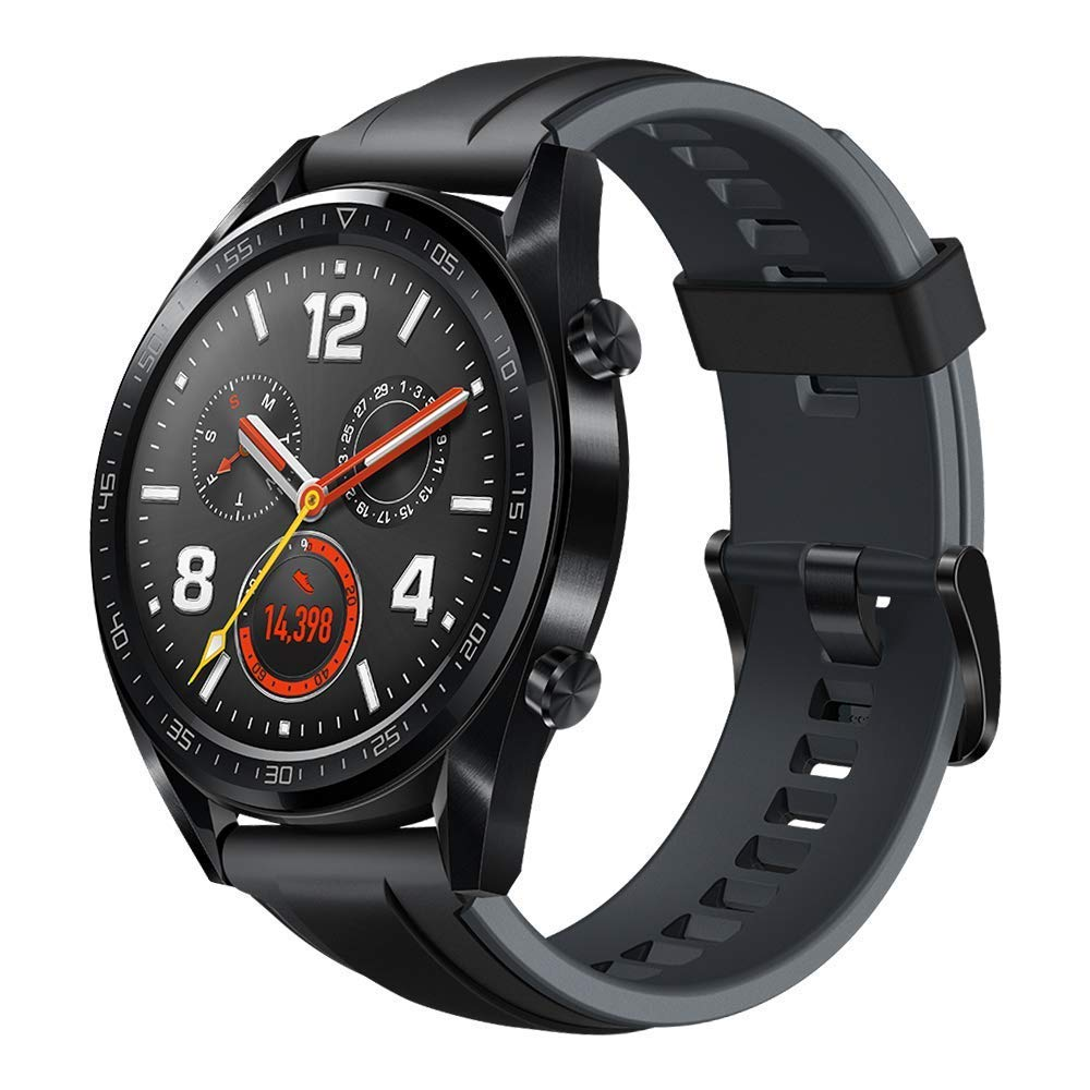 Huawei Watch GT Sport - Reloj (TruSleep, GPS, monitoreo del ritmo cardiaco), Negro 1