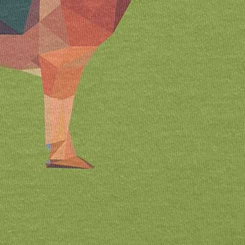 Texlab–Poly German Shepard–sacchetto di stoffa Verde chiaro
