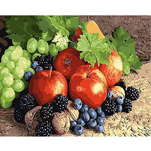 Walnuss-kunst (AZYVv Holz Puzzle DIY Puzzles 1000 Stück Obst Walnuss Kunst Besonderes Geschenk Freizeit Spiel Spielzeug Dekoration)