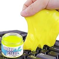 Gel Nettoyant Clavier, Ventdest Super Clean Gel Nettoyant Clavier, Douce Dust Cleaner Kit pour PC, Ordinateur Portable…