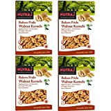 Nutraj Light Colored Broken Bakers Pride Walnut Kernels 1Kg (4 X 250g) - Walnuts Without Shell