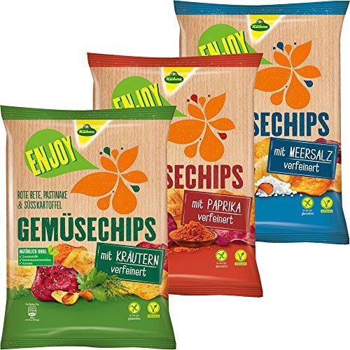 kuhne-enjoy-gemusechips-testpaket-mit-paprika-meersalz-und-krautern-vegan-3x75g-beutel