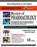 #3: Review of PHARMACOLOGY 12th Edition 2018 by Gobind Rai Garg, Sparsh Gupta