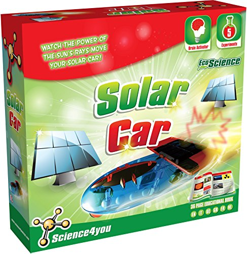 Science4You Auto Solare, Gioco Educativo e di Scienza