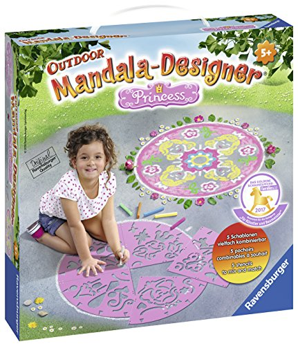 Ravensburger 29706 – Princess Mandala Designer Outdoor