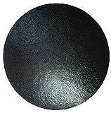 25,4cm Runde Kuchenplatte–Schwarz -
