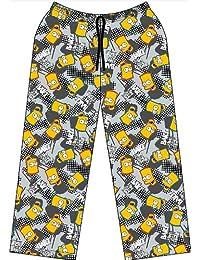 Bart Simpson Lounge Pants | Grey Simpsons PJ | Age 9 to 10 Years