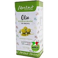 Frantoio Oleario Martino Alfonso - 5lt Lattina - Olio Extra vergine di oliva 100% Italiano estratto a freddo