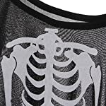 Description: Perfect for Halloween party, Masquerade Party, As the Game Props Is a Very Good Choice. This Skeleton Robe Has a Printed Spooky Bone Design on the Front of the Cloak That Can Work Over Normal Clothing Underneath. Halloween Costume For Ch...